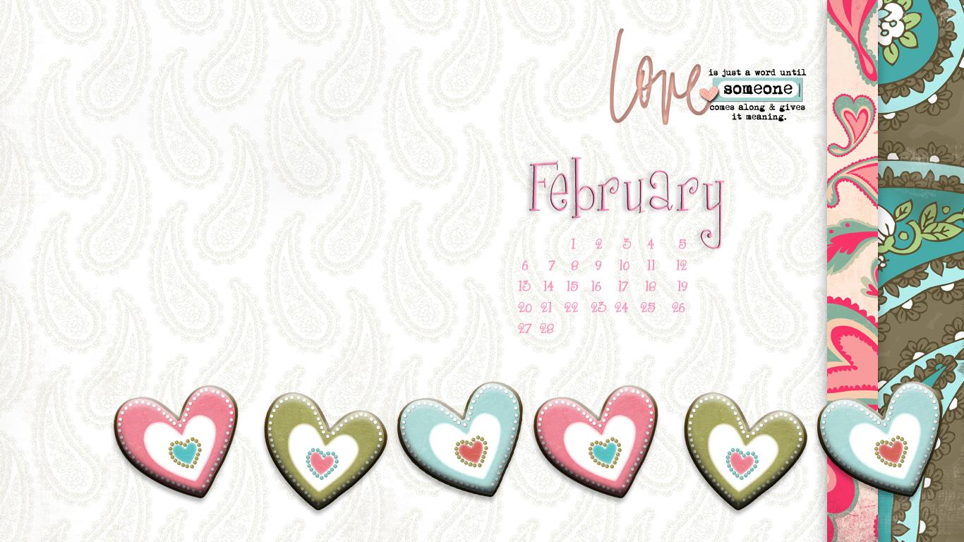 February Desktop Wallpaper PicsWallpapercom 1366x768