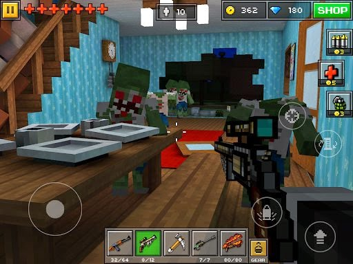 how to get weapons in sandbox pixel gun 3d 2017