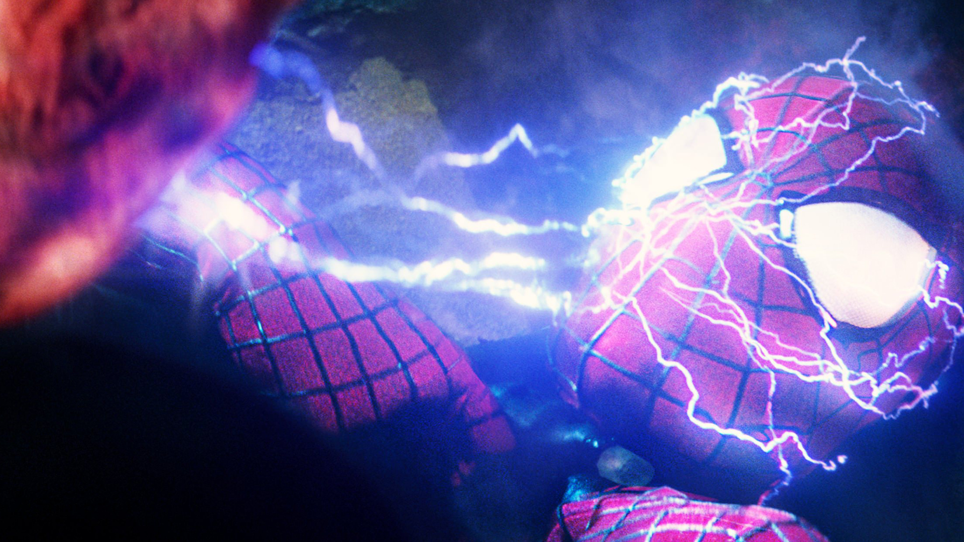 electro vs the amazing spider man 2 movie hd 1920x1080 1080p wallpaper 1920x1080