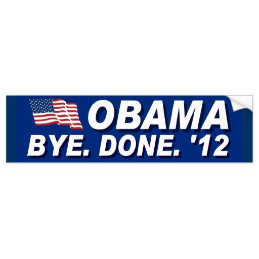 Anti Obama Anti Barack Obama Bumper Sticker from Zazzlecom 512x512