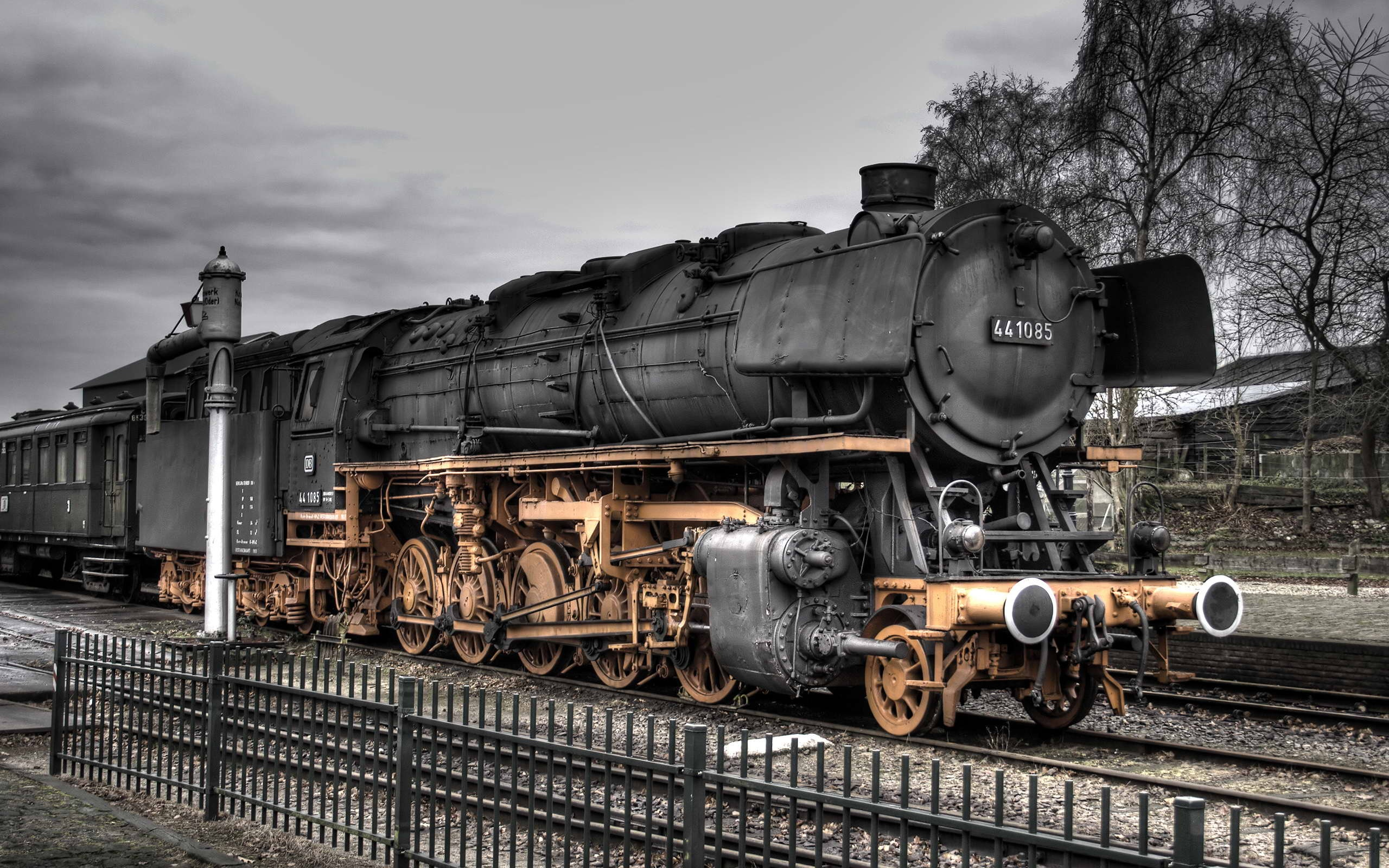 Steam Locomotive Wallpaper Space Elephant 2560x1600