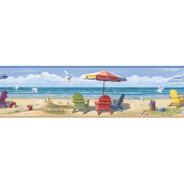 Beach Portrait Border   Lori   Borders by Chesapeake Wallpaper by 600x600