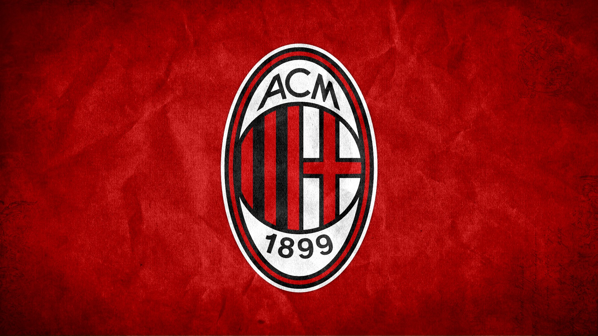 AC Milan FC Football Logo HD Wallpaper of Football   hdwallpaper2013 1920x1080