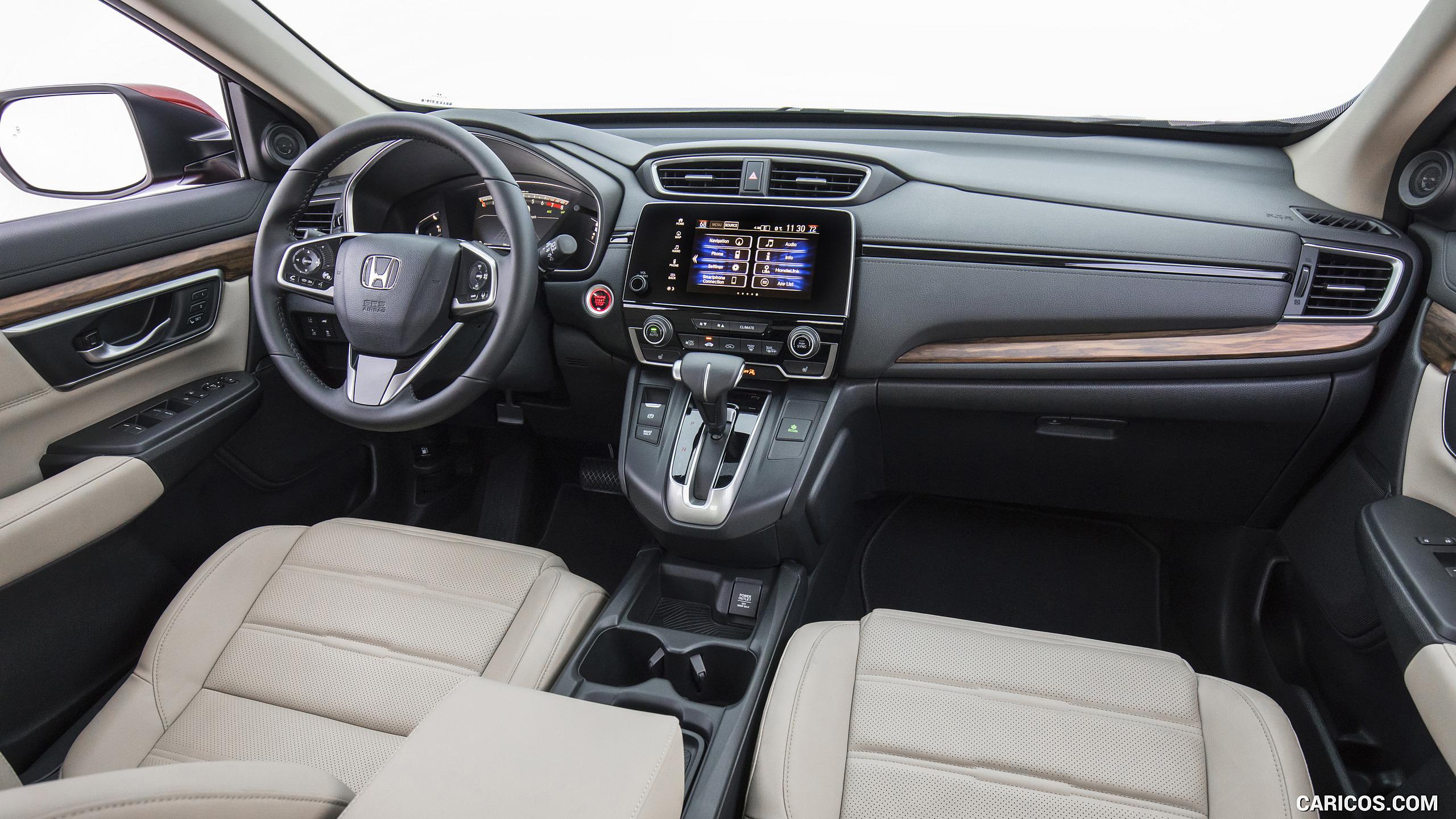 2017 Honda CR V Touring AWD   Interior HD Wallpaper 127 2560x1440