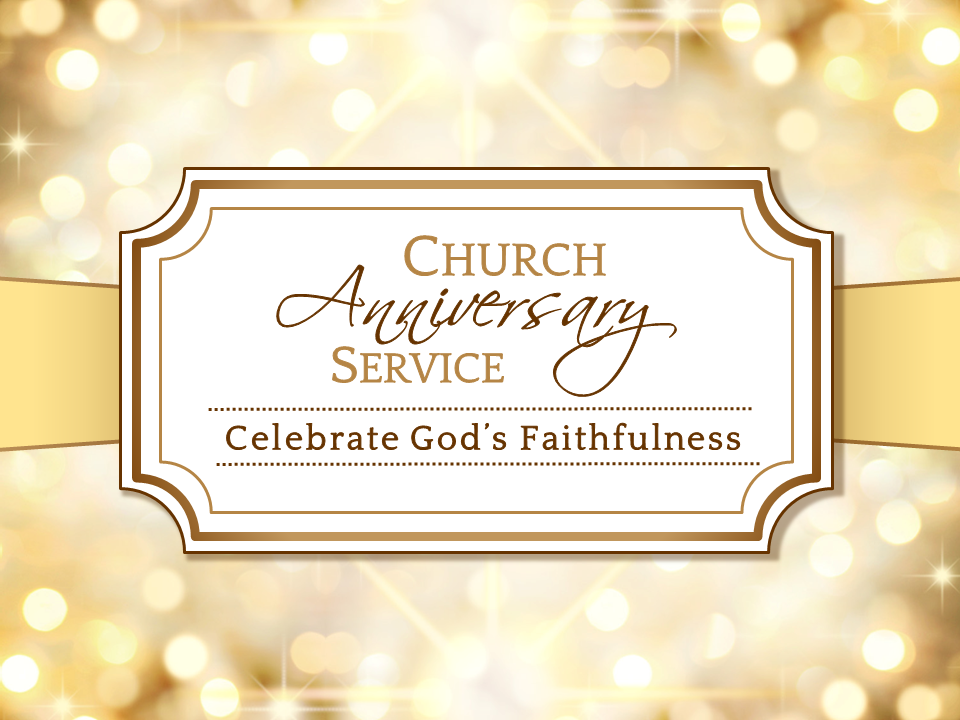 church anniversary wallpaper