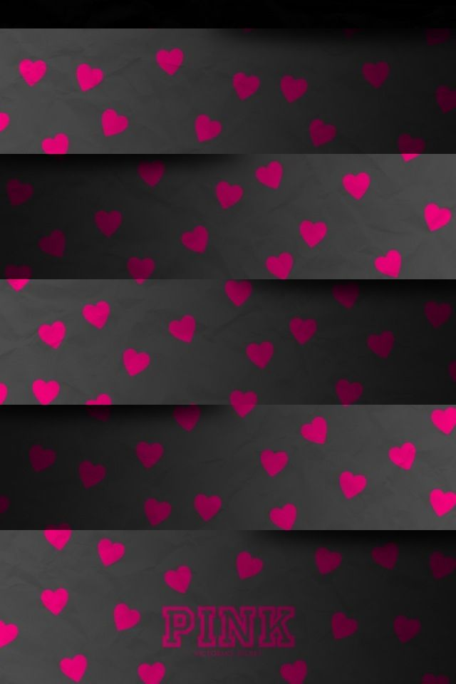 Pink iphone wallpaper VS PINK Wallpaper Pinterest 640x960