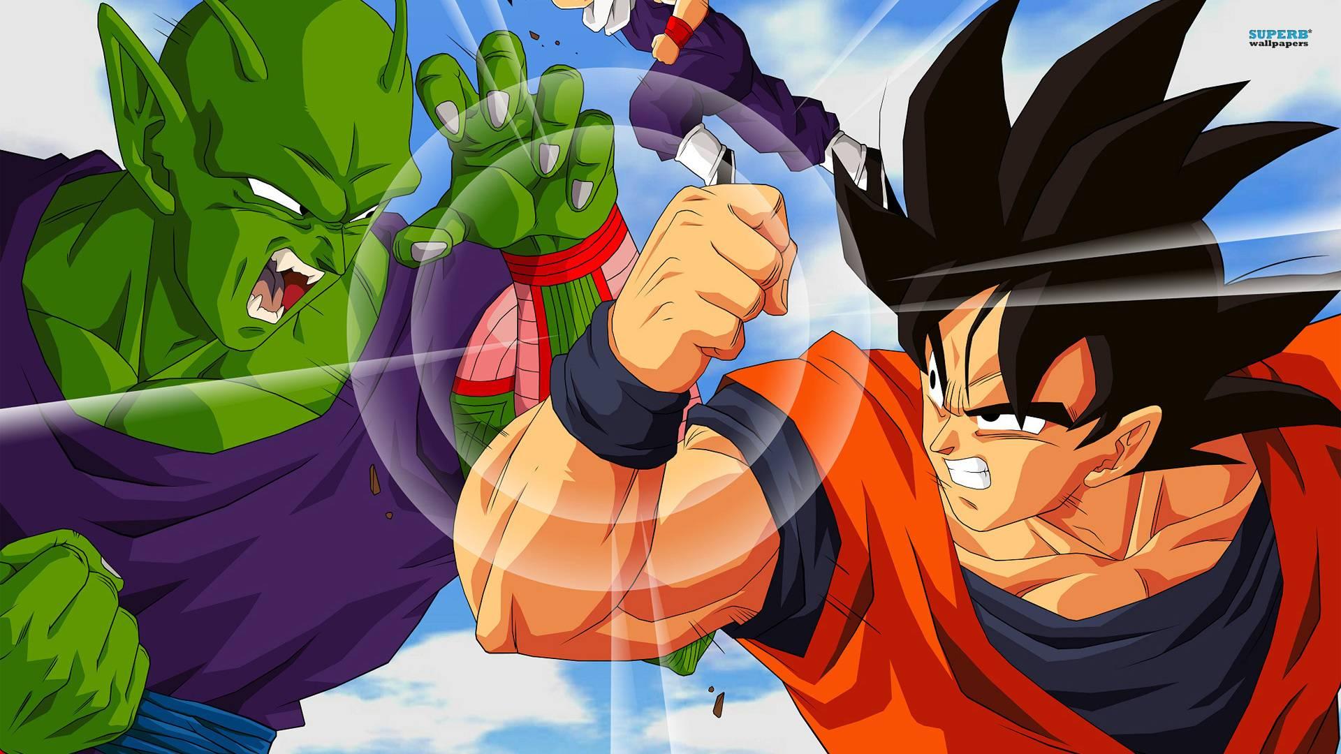 Goku vs Piccolo Goku vs Piccolo 1920x1080