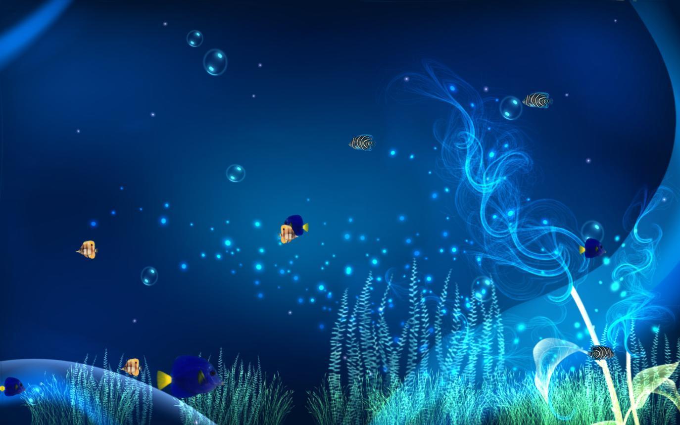 Aquarium Animated Wallpaper Desktop 1374x859