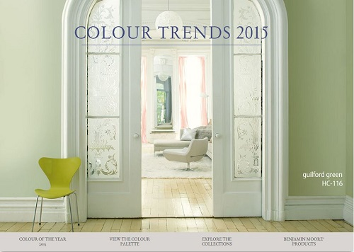 Benjamin Moore 2015 Paint Colour Trends presented by Carlisle Wide 500x356