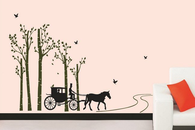 Wall Stickers Dog Themed Kids Room Decor Removable Wall Decals Male 648x432
