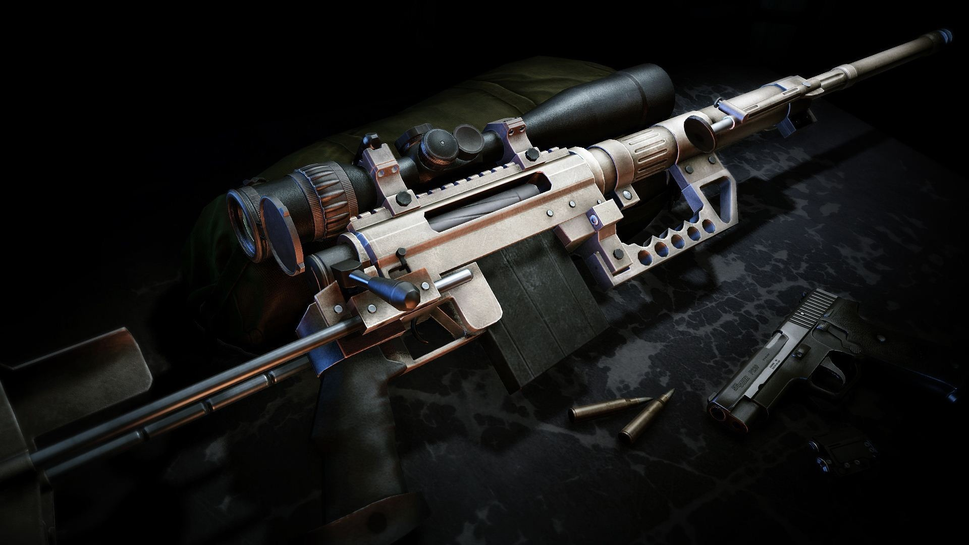 Wallpaper guns sniper rifles ammunition guns sniper ghost warrior 1920x1080