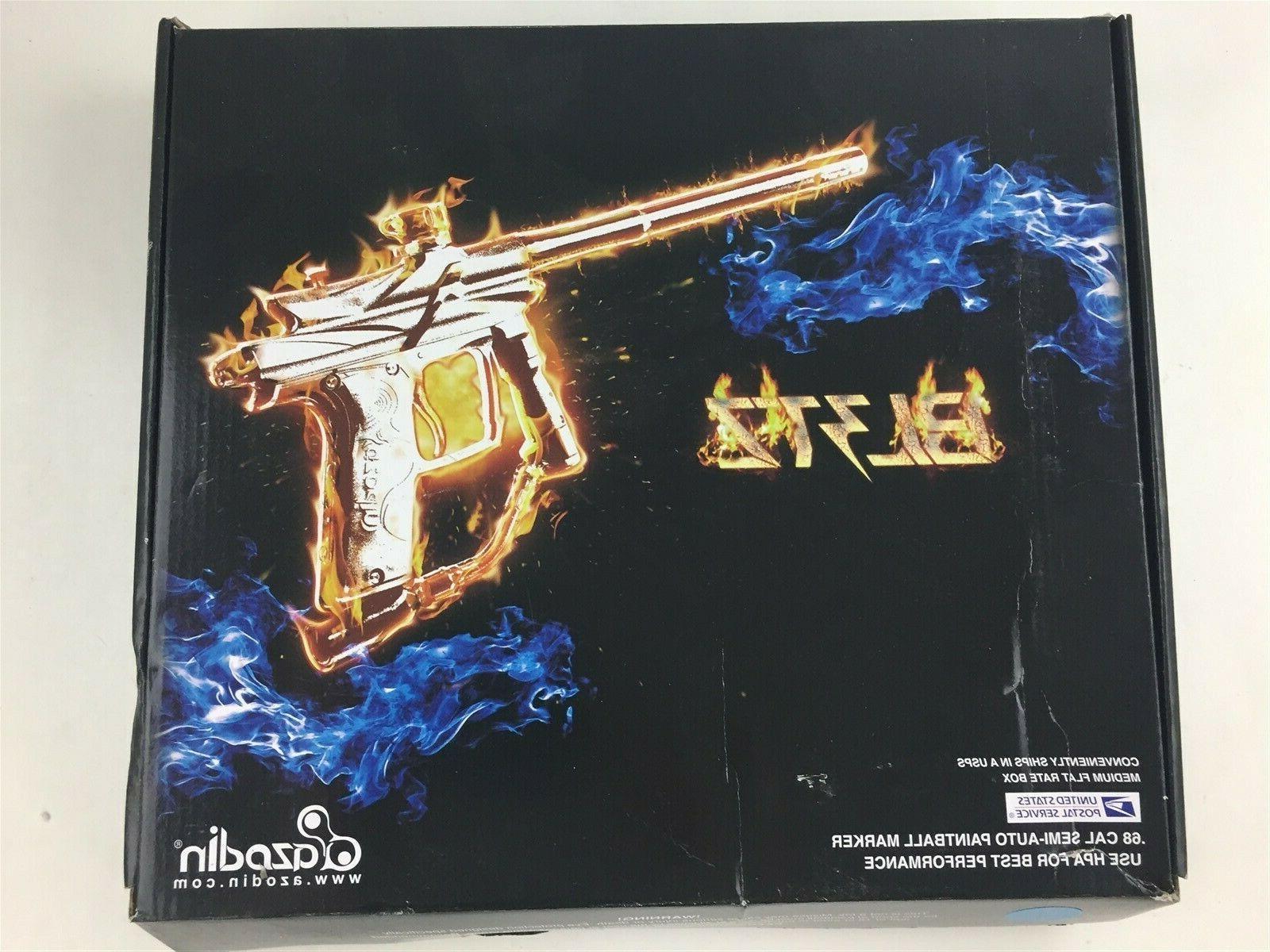 Azodin Blitz 3 Electronic Paintball Gun   Orange 1600x1200