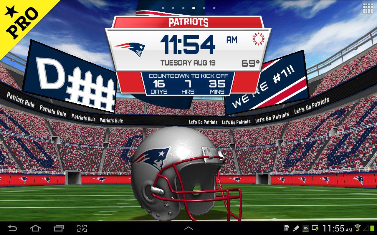 NFL 2015 Live Wallpaper   screenshot 1280x800