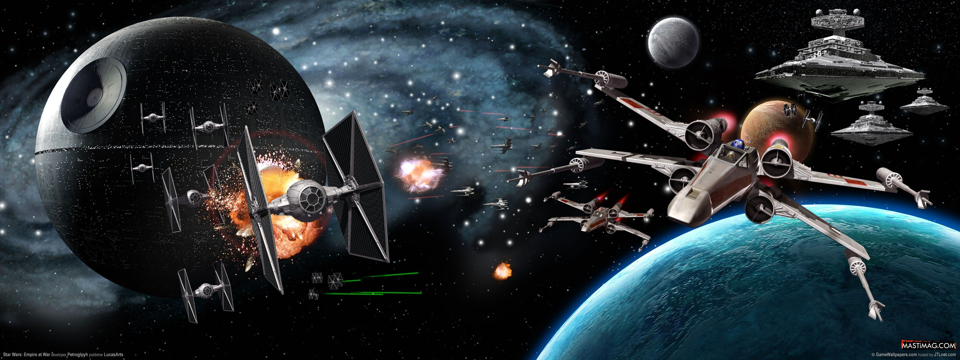 Largest Collection of Star Wars Wallpapers For Download 3200x1200