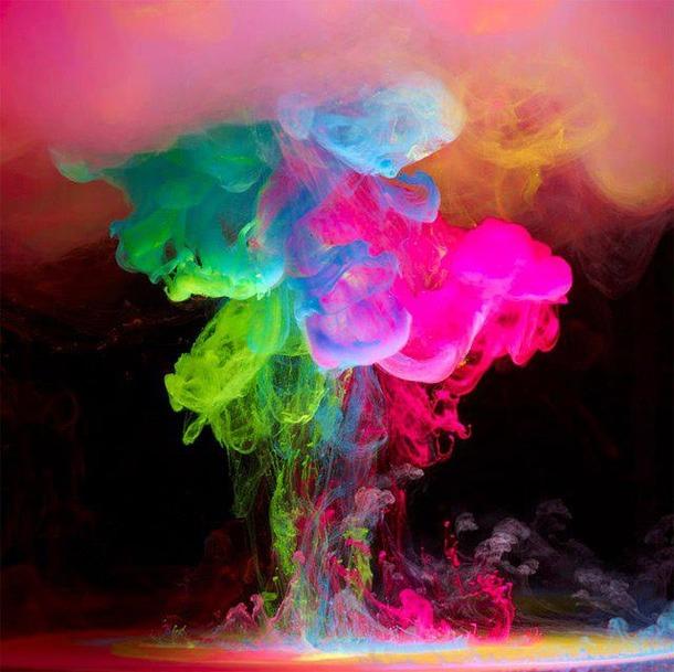 color colors cool explosion   image 608997 on Favimcom 610x609