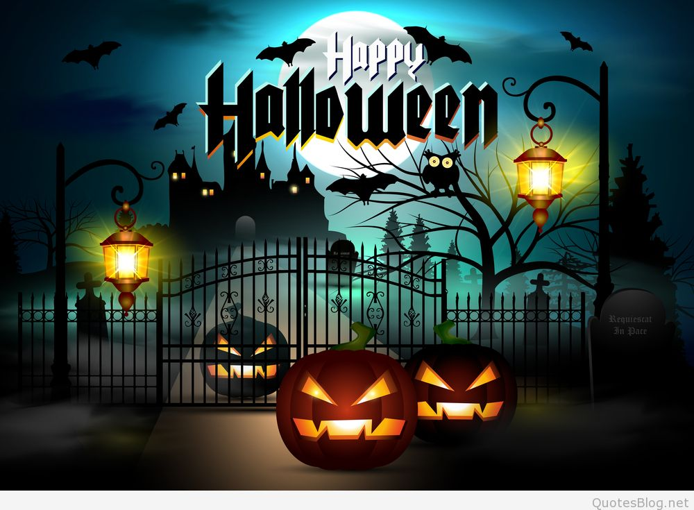28 Happy Halloween Wallpapers Halloween Images and Backgrounds 1000x735