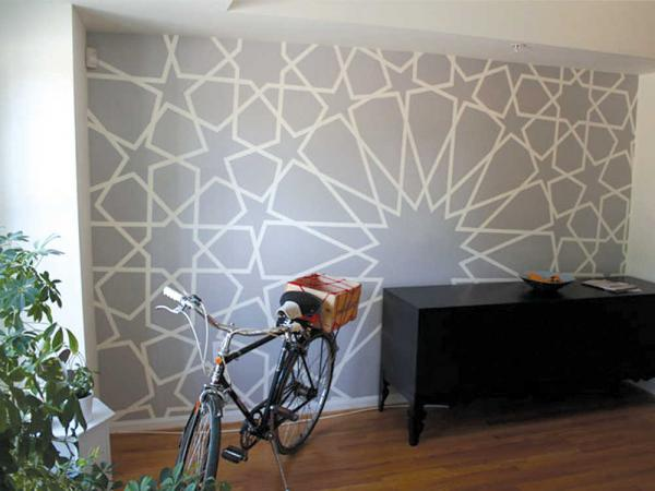 Decorative painting How to transform a room with a few simple strokes 600x450