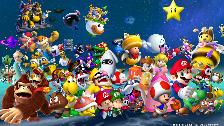 Free Download Are You Loyal To Any One Mario Character Roundtable
