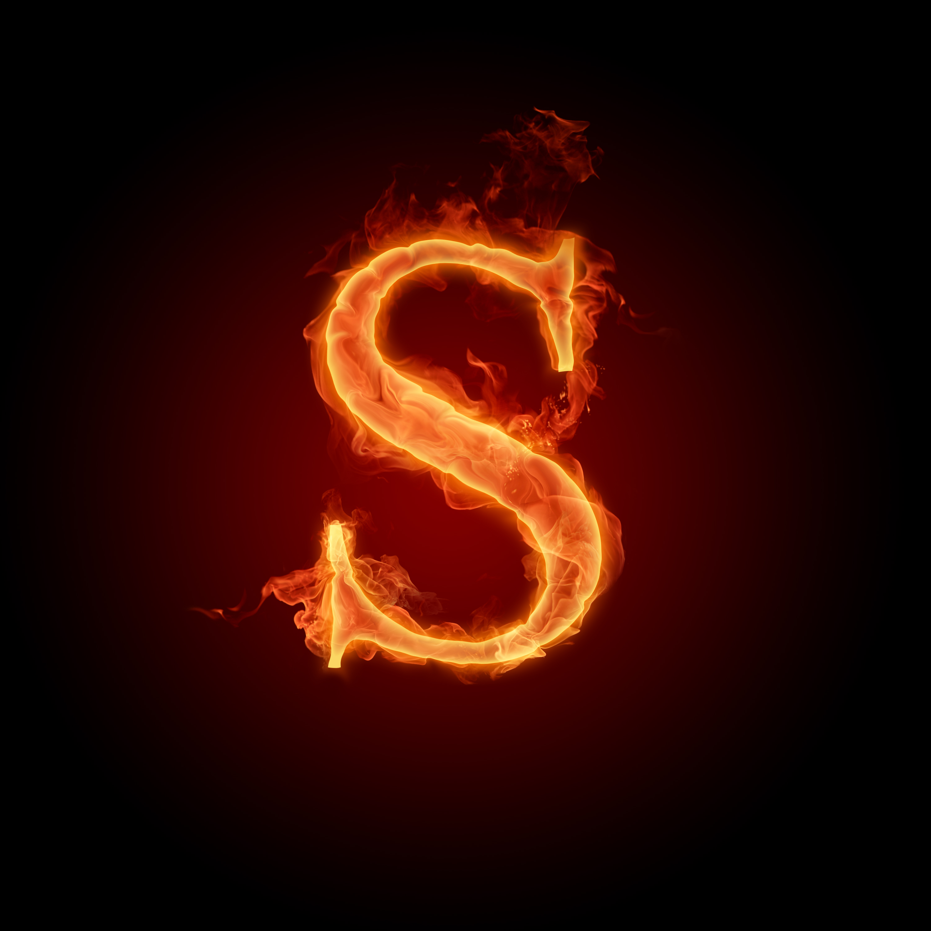 Fire Letters Wallpapers HD 3000X3000 S Z   Photo 5 of 8 phombocom 3000x3000