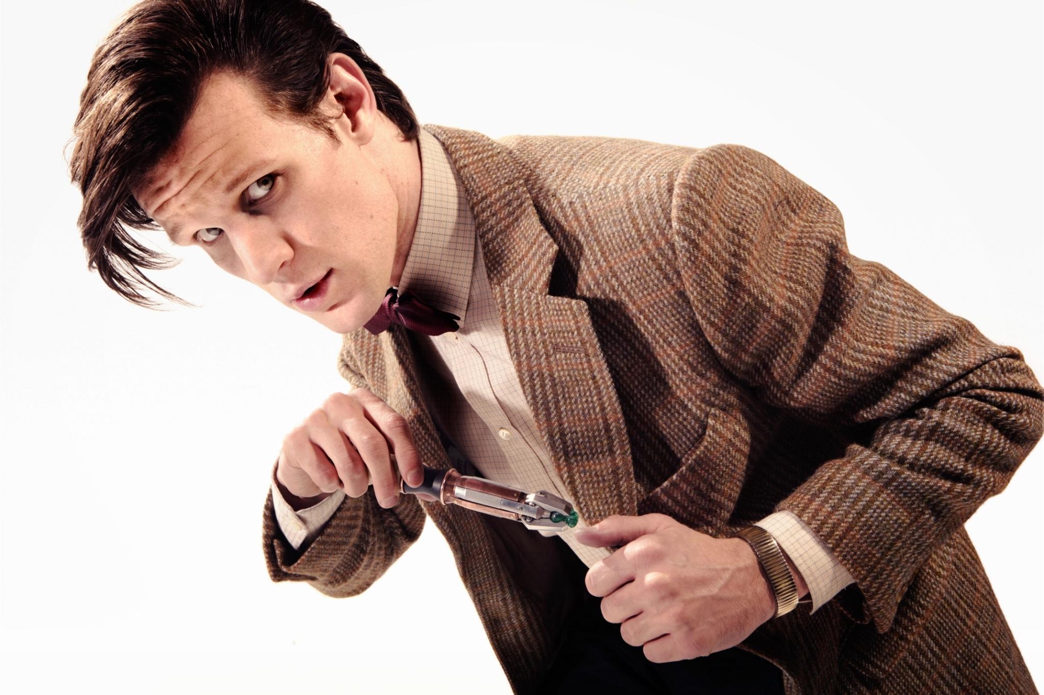 Doctor who doctor who matt smith matt smith male white background 2048x1365