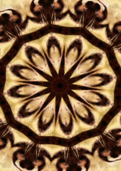 iPhone Wallpapers Mandala Modern Art Digital Download 425x600