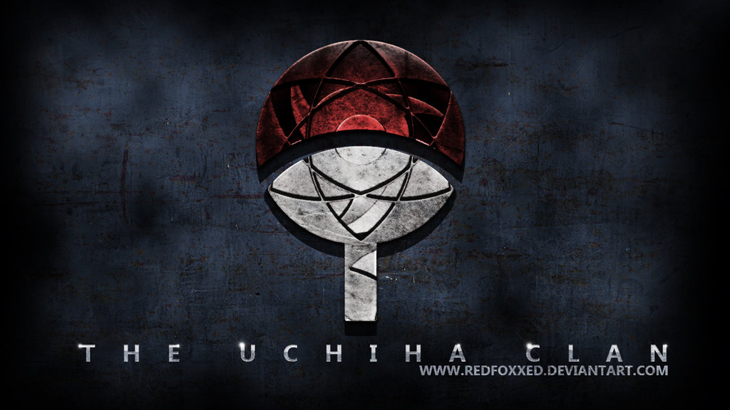Uchiha Clan Symbol by redfoxxed 1024x576
