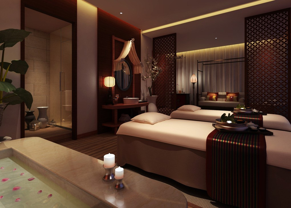 spa massage room interior design 3d spa interior design with. ← Salon Wallpaper Designs