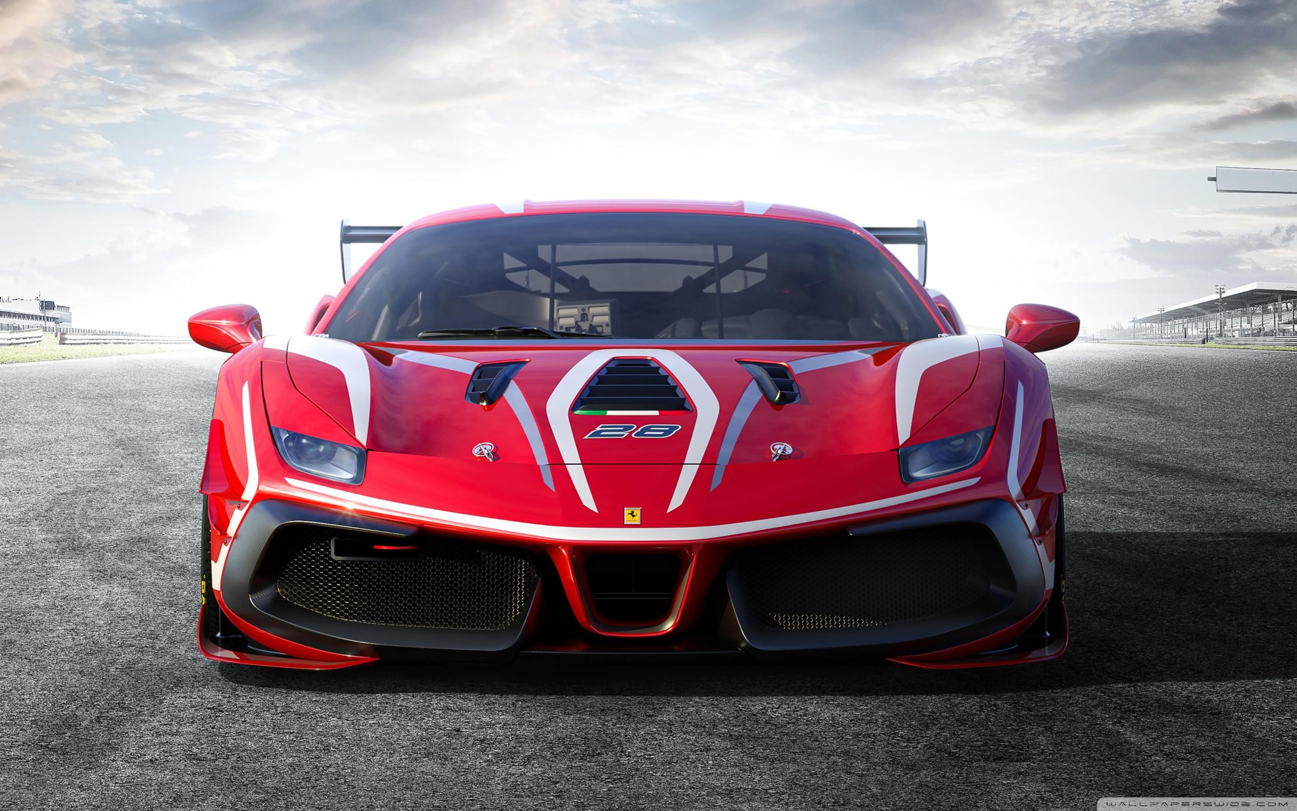 Ferrari 488 Challenge Evo Race Car 2020 Ultra HD Desktop 2560x1600