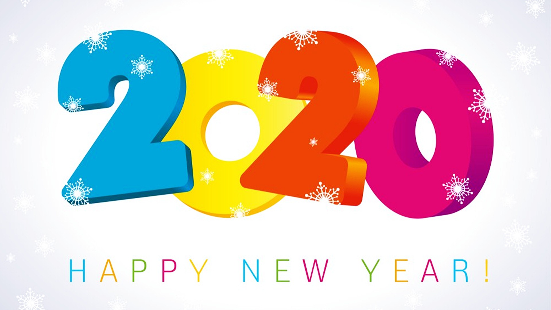 Happy New Year 2020 Widescreen Wallpapers 45558   Baltana 1920x1080