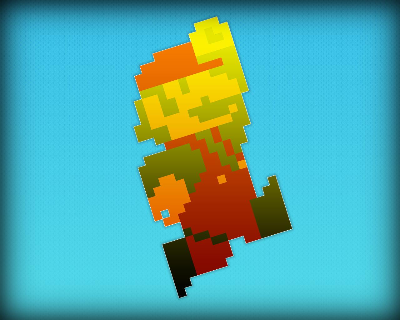 Super Mario Bros NES Wallpaper - WallpaperSafari