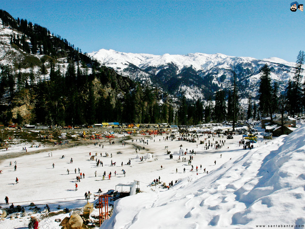 Solang Valley Himachal Pradesh   Santabanta Wallpapers 1024x768