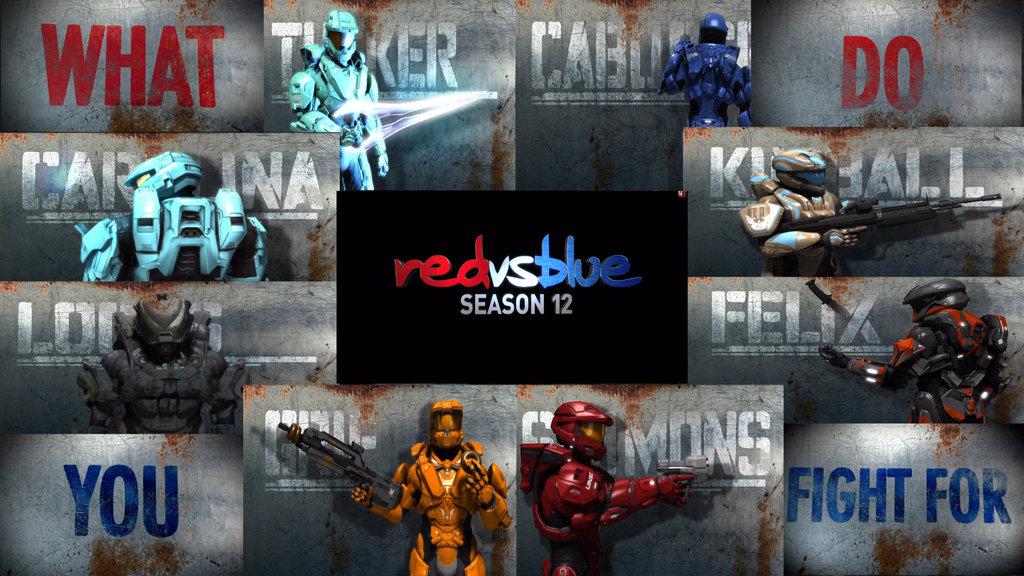 1024x576px Red Vs Blue Wallpaper Tucker Wallpapersafari