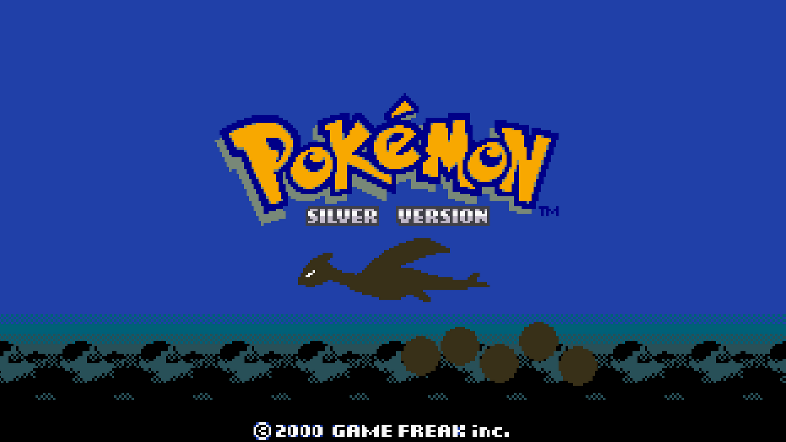 Pokemon Silver version Computer Wallpapers Desktop Backgrounds 1600x900
