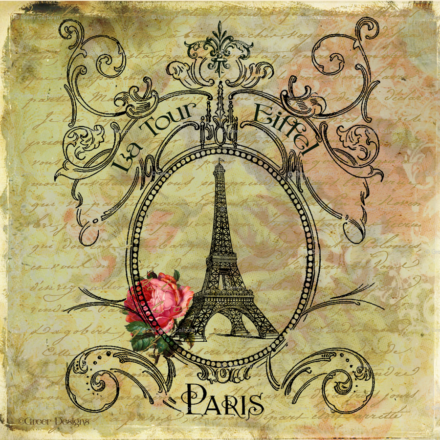 As Creation Pink Paris Pattern Eiffel Tower Childrens: Vintage Eiffel Tower Wallpaper
