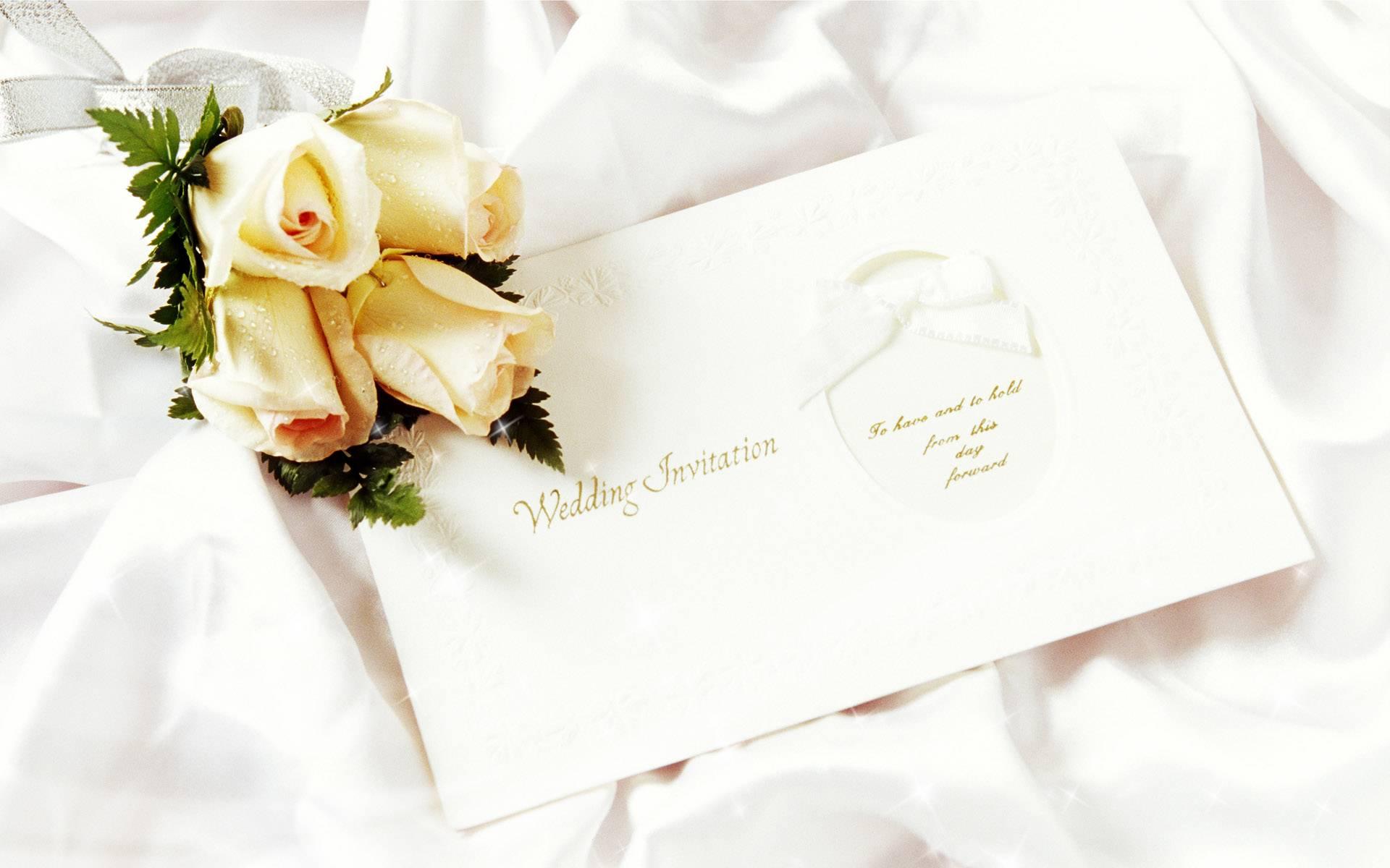 WEDDING INVITATION   Dream Wedding Wallpaper 1920x1200