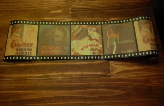 Movie Reel Wallpaper Border Film reel wallpaper border 570x370