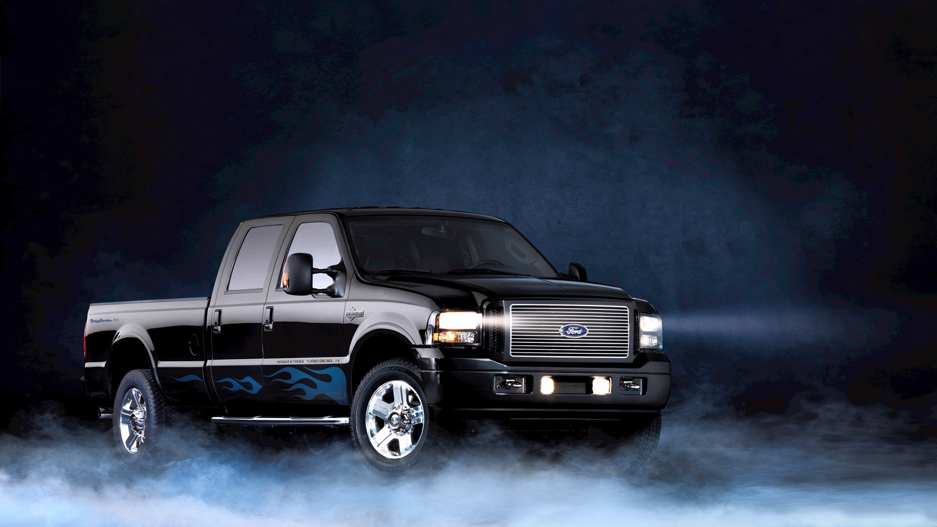 Ford F250 Harley Davidson HD Wallpaper Background Image 1920x1080