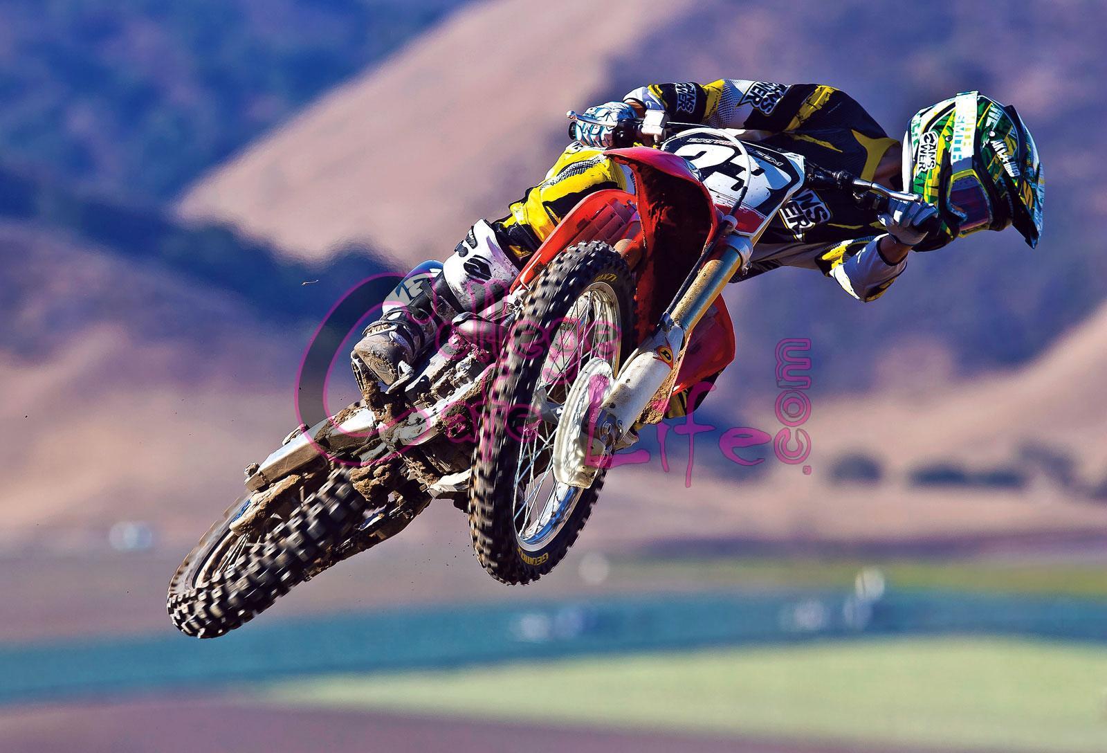[46+] Dirt Bike Wallpaper HD on WallpaperSafari