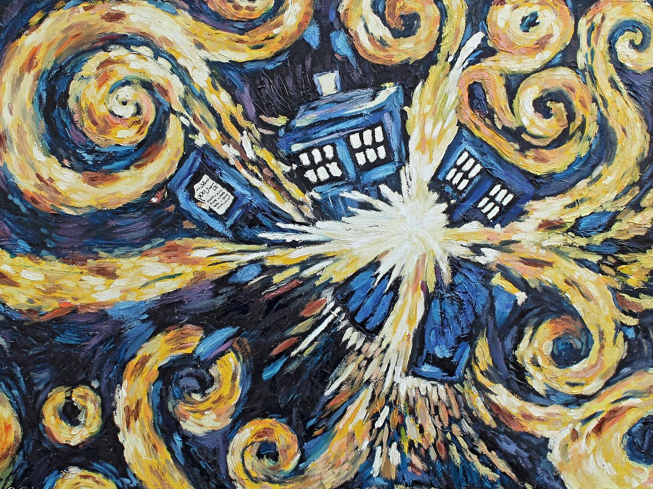 The Pandorica Opens aka Exploding TARDIS by Woolf83 1280x960