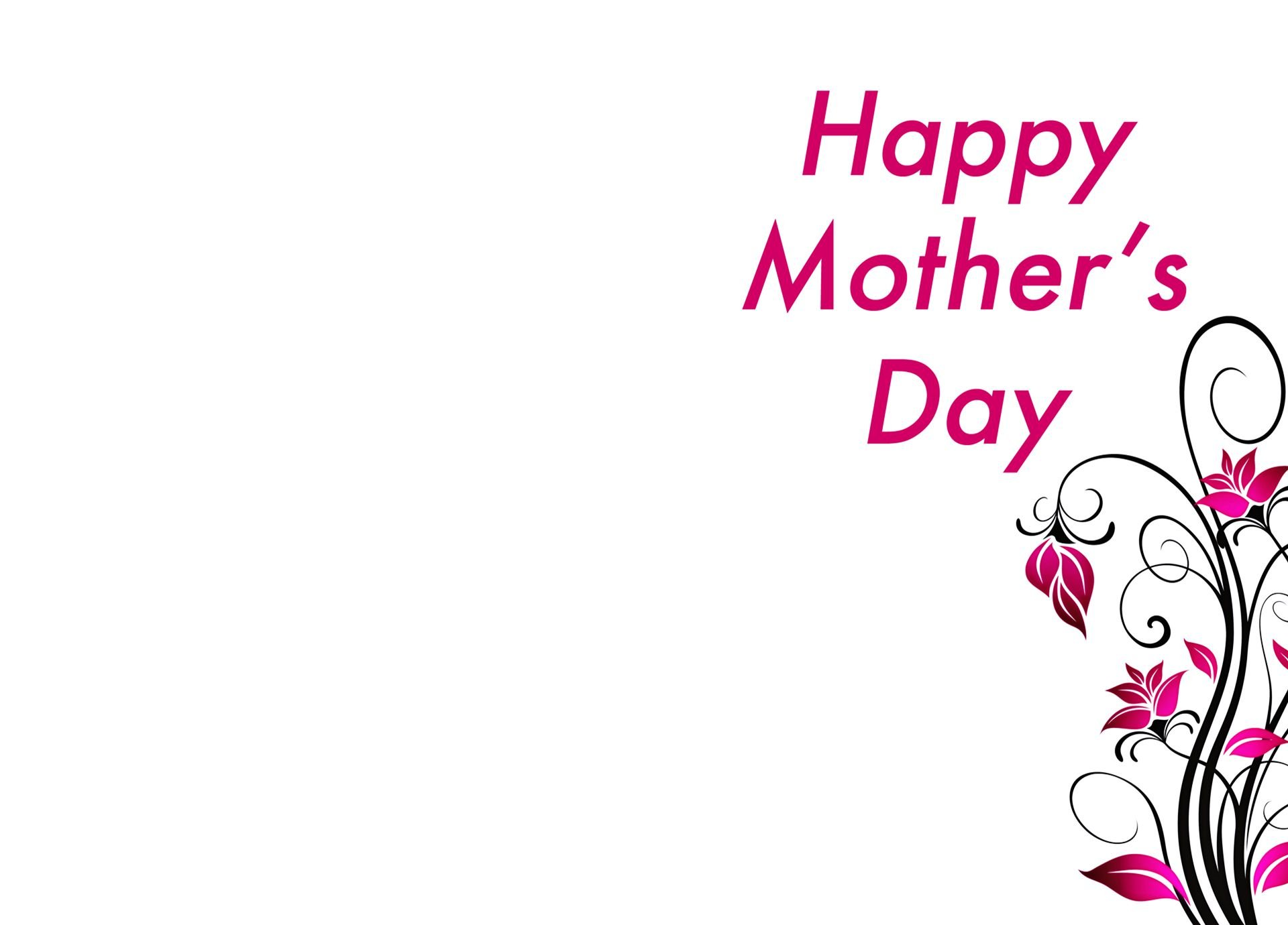 Mothers Day Cards Wallpaper 1920x1380