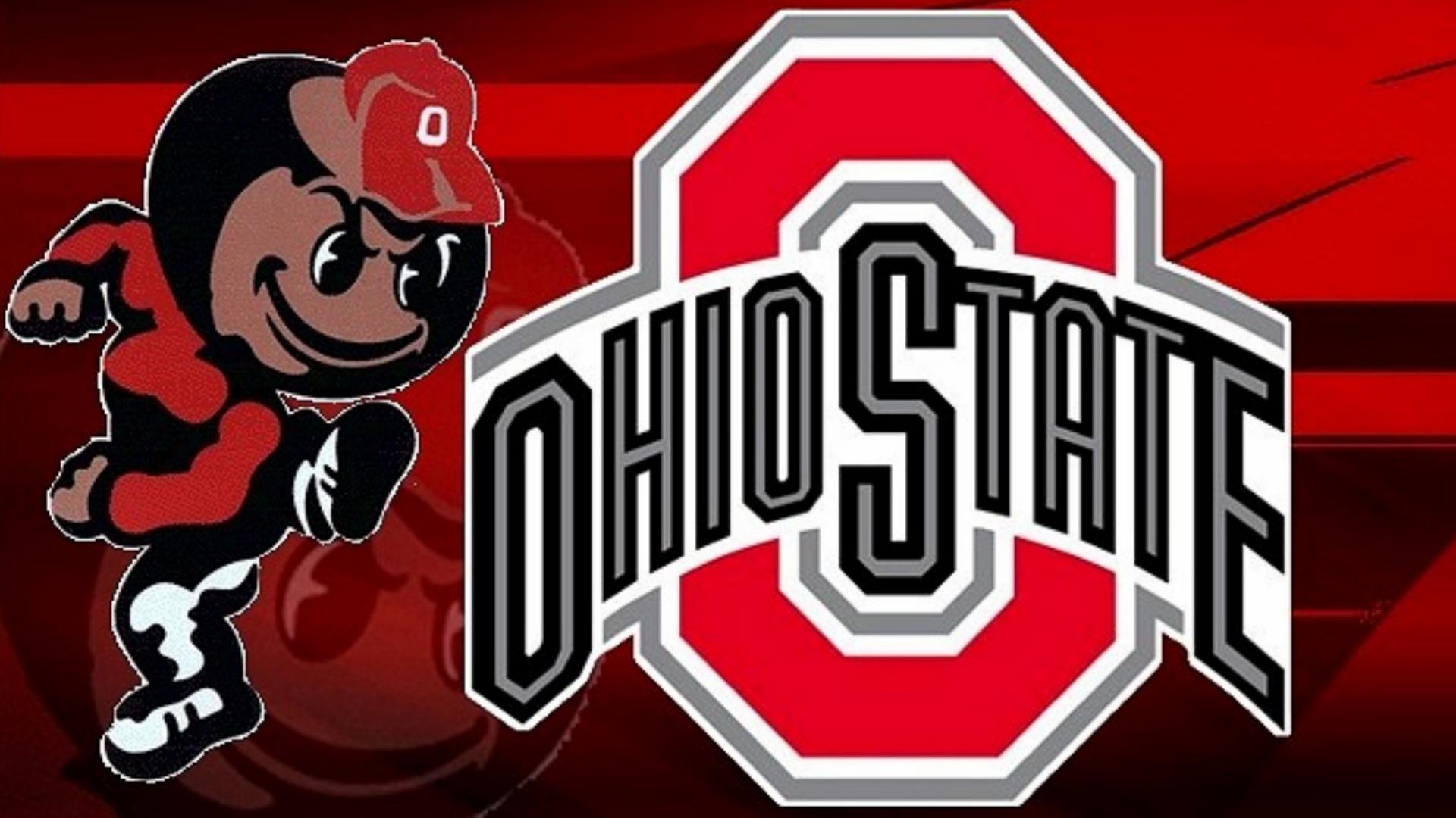 Ohio state university brutus buckeye statue - Brutus Buckey Red Block O Ohio State Ohio State Football Wallpaper