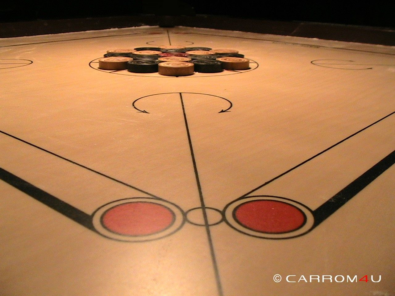 photo Carrom Game Table Game Striker   Image on 1280x960