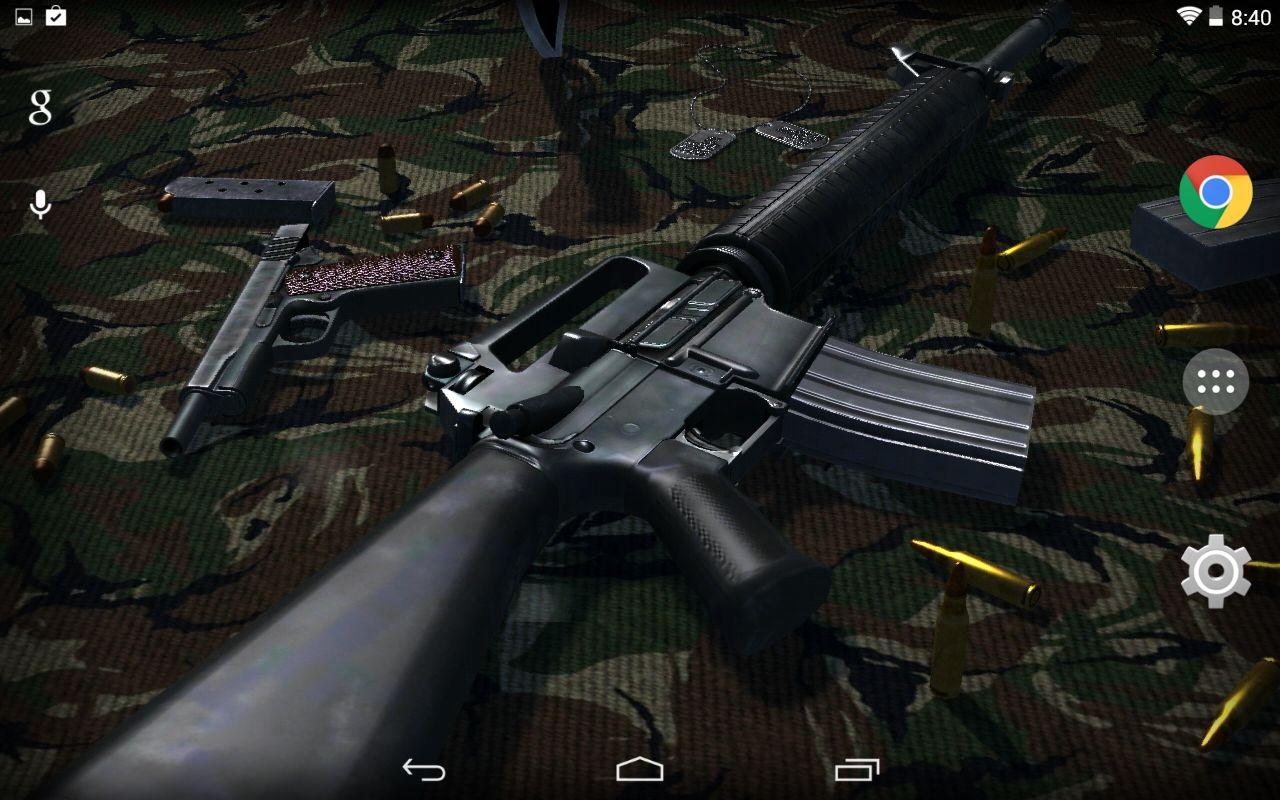 Free Download 3d Guns Live Wallpaper Android Apps On Google