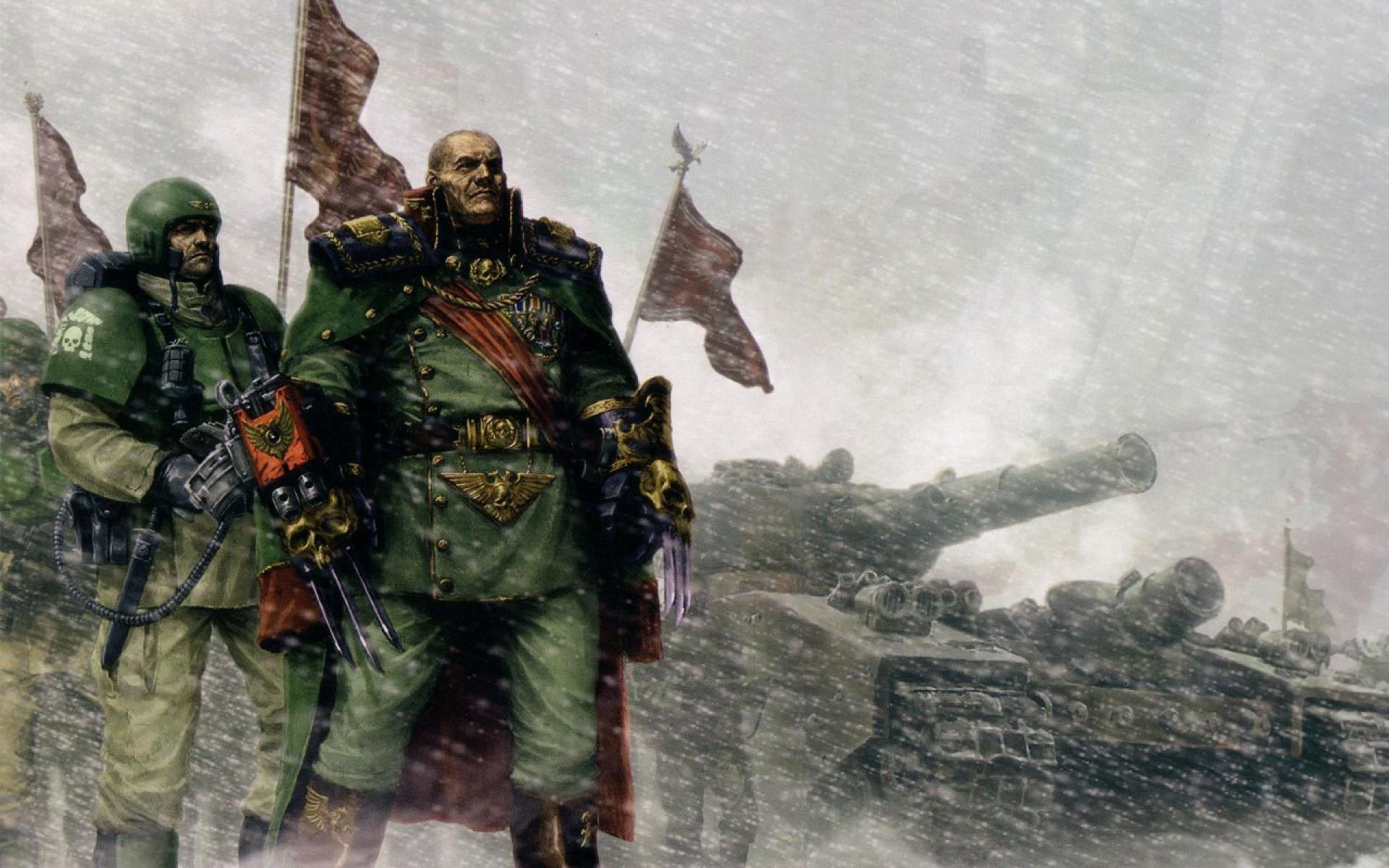 Imperial Guard Warhammer Wallpaper WallDevil   Best HD desktop 1920x1200