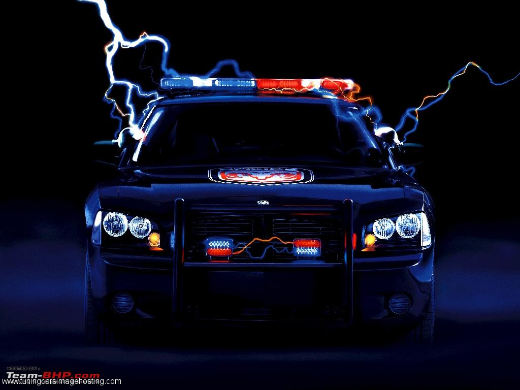 Dodge Charger Police Car Wallpapers 1024x768