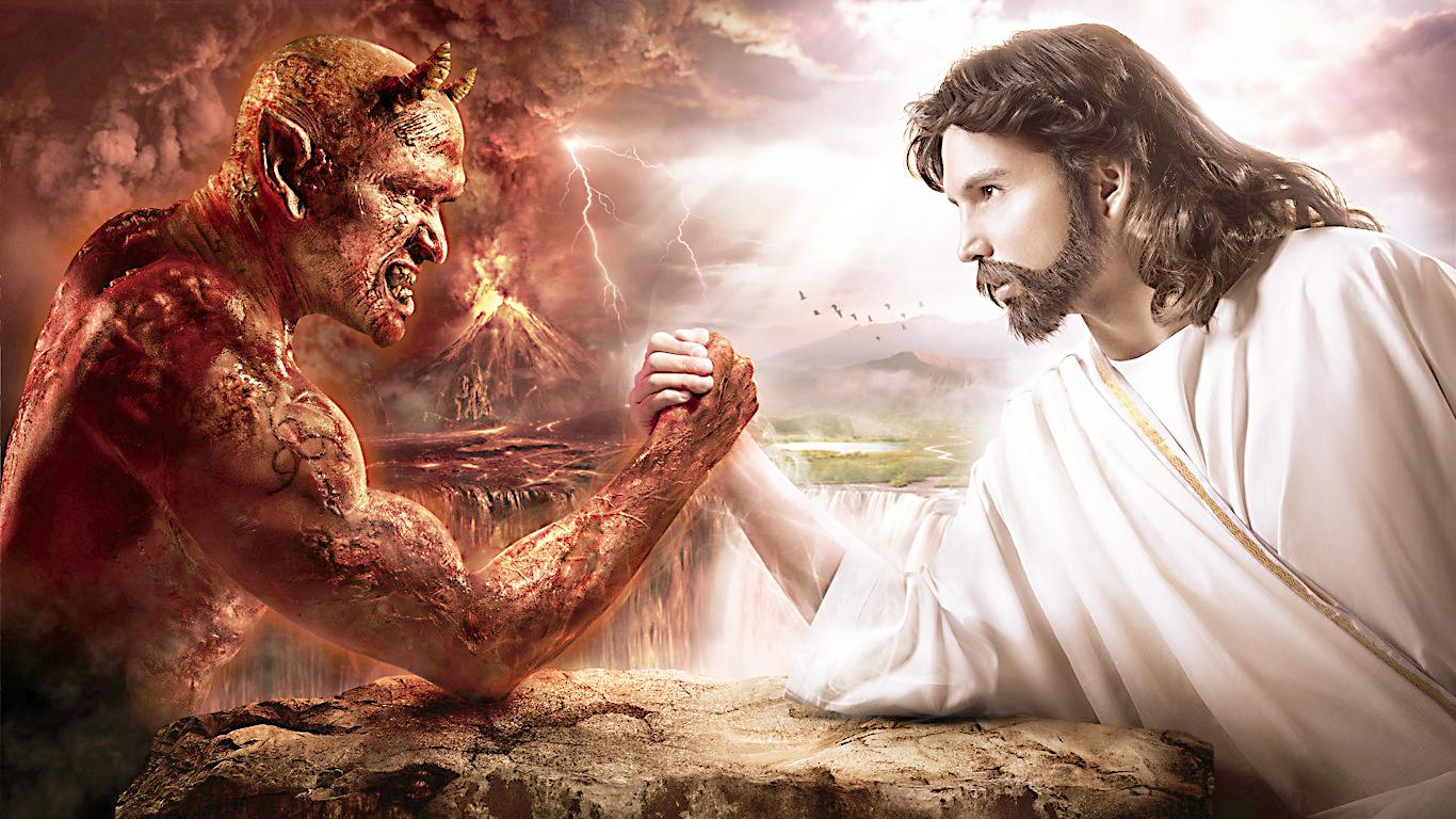 Satan Vs Devil God vs jesus - viewing gallery