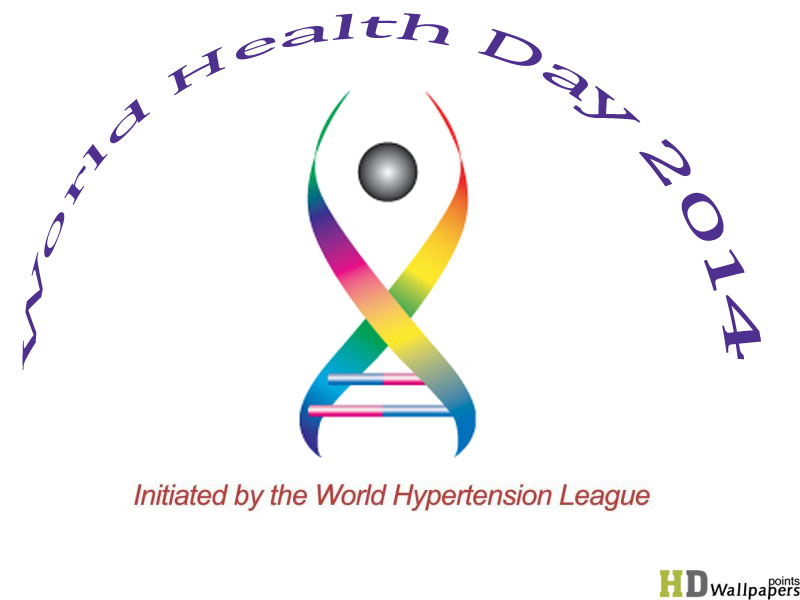 Wallpaper of World Health Day 2014 800x600