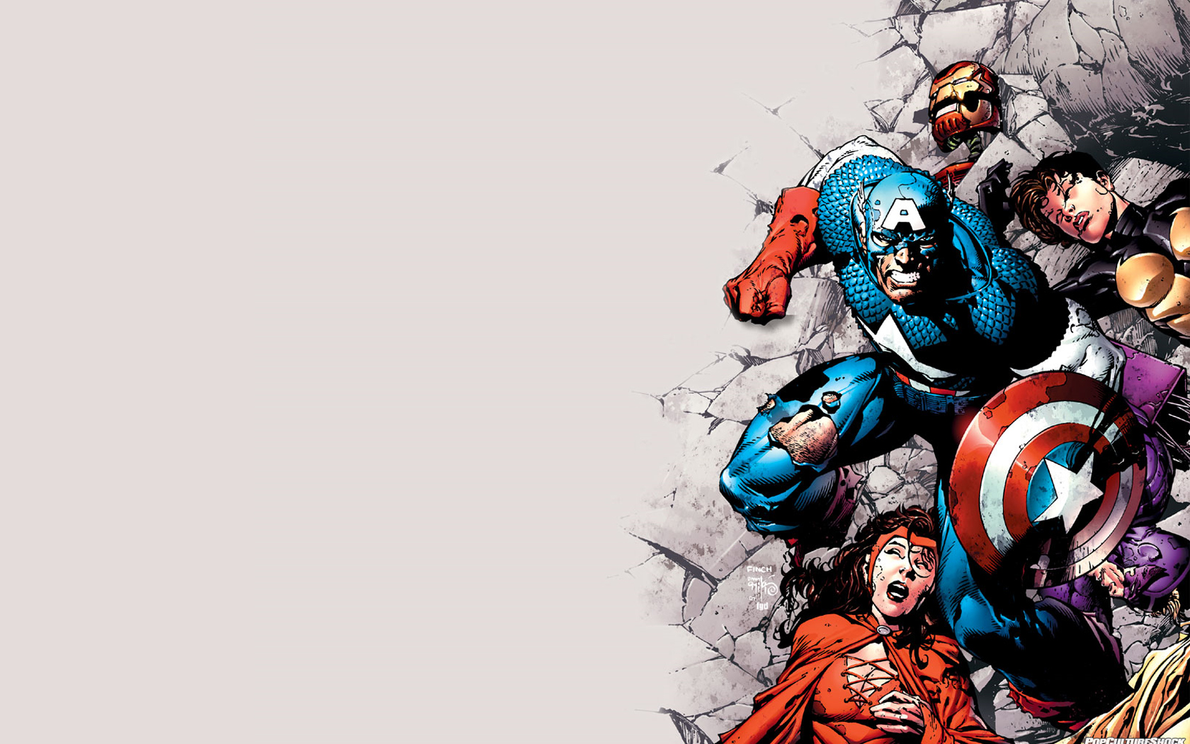 47 Marvel Comics Wallpaper Hd On Wallpapersafari