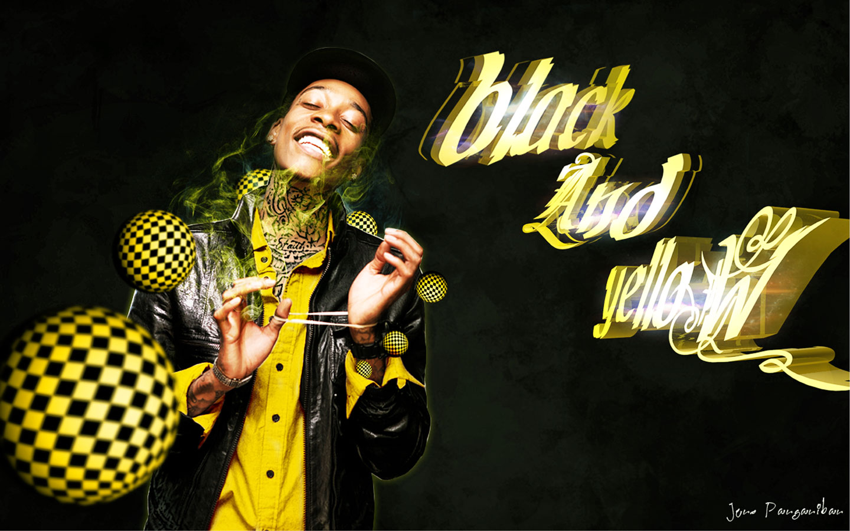 wiz khalifa black and yellow 2jpeg 1440x900