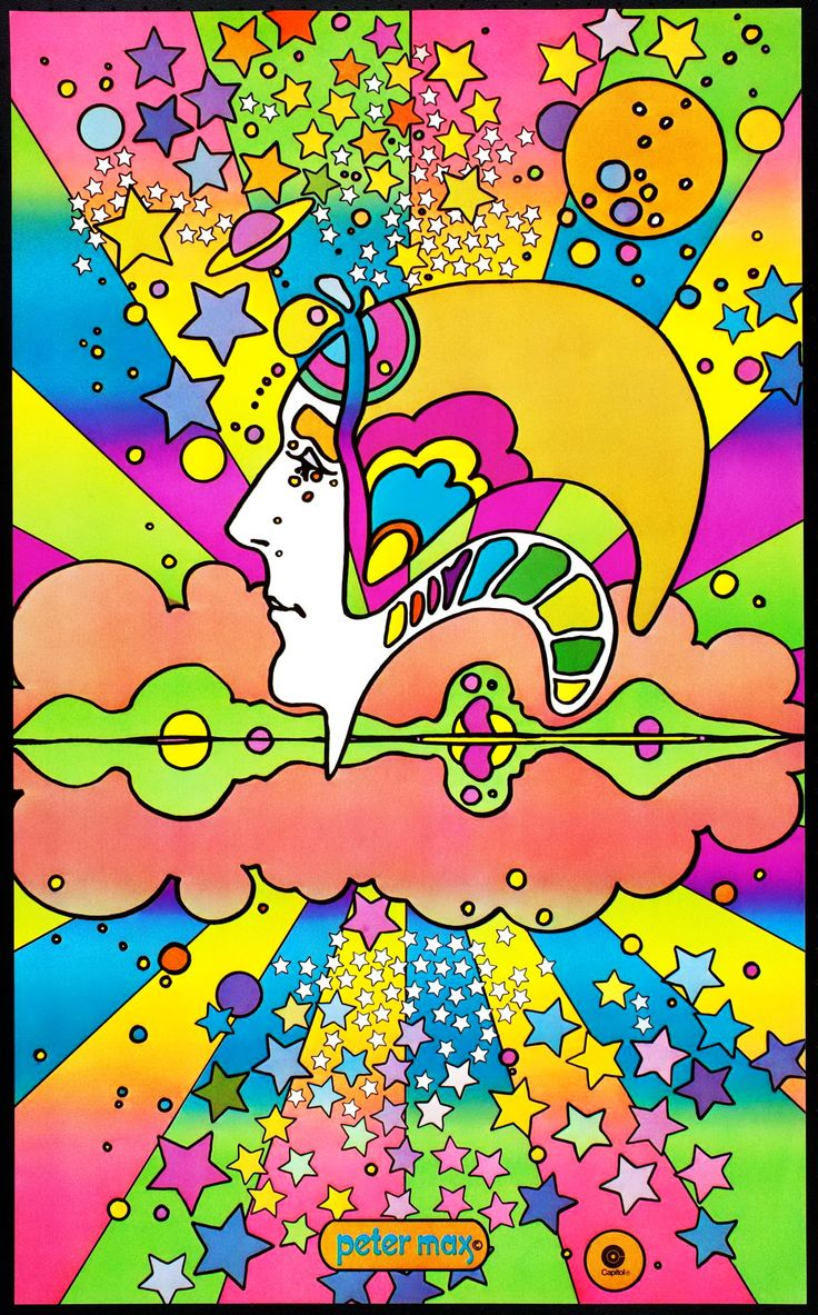 live in a Peter Max world and in my mind I didPhone Wallpapers 736x1183